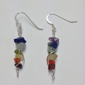 A chakra earrings