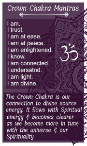 crown chakra affirmation